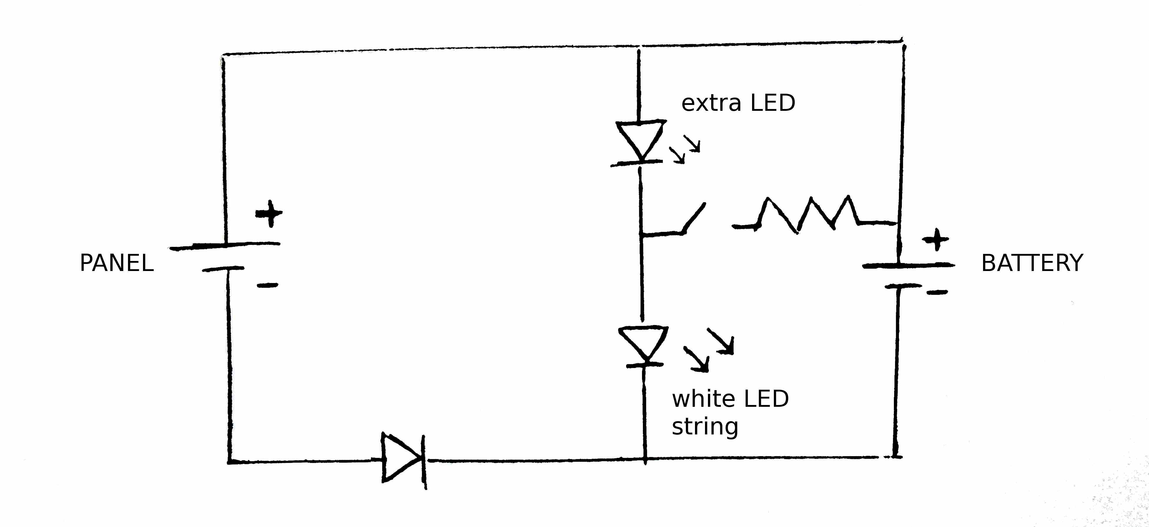 led light circuit diagram for dummies swimming pool sand filter simple free engine image