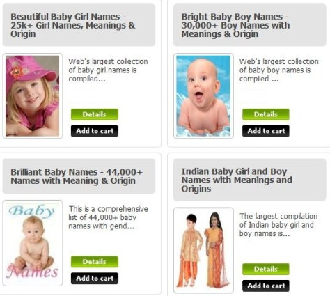 baby names collections