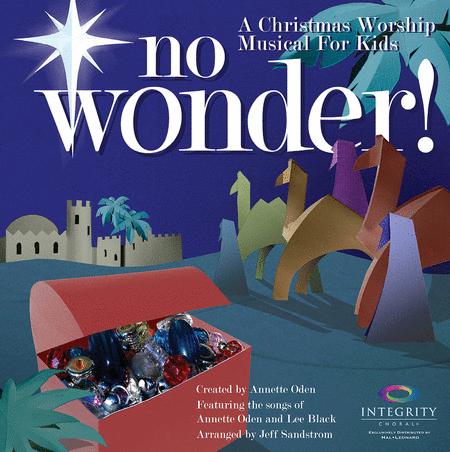 No Wonder! Sheet Music By Annette Odenlee Black  Sheet