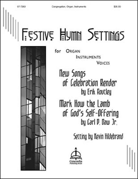 Sheet music: New Songs of Celebration Render, Festive Hymn