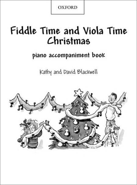 Fiddle Time And Viola Time Christmas: Piano Book Sheet