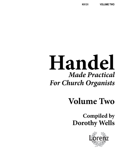 Download Handel Made Practical For Church Organists, Vol