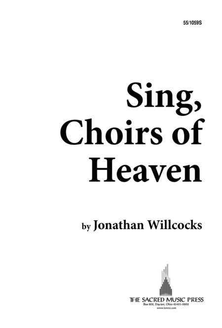 Download Sing, Choirs Of Heaven Sheet Music By Jonathan