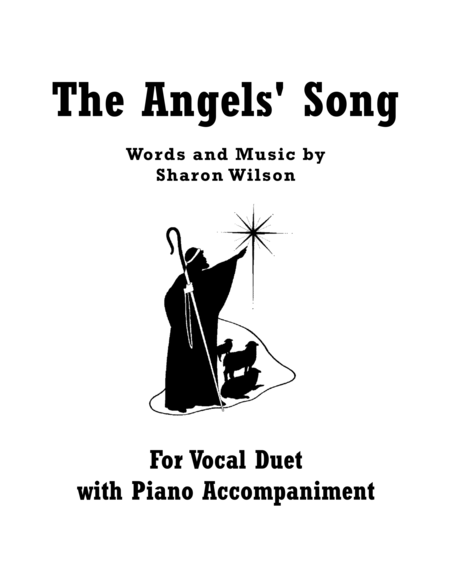 Preview The Angels' Song (Vocal Duet, B-flat Major) By
