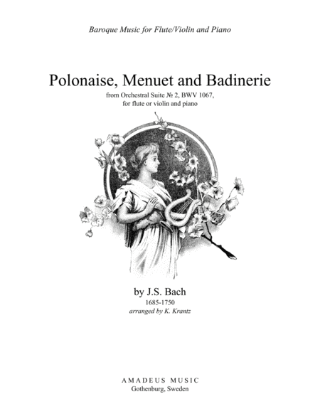 Download Polonaise, Menuet And Badinerie From Suite No. 2