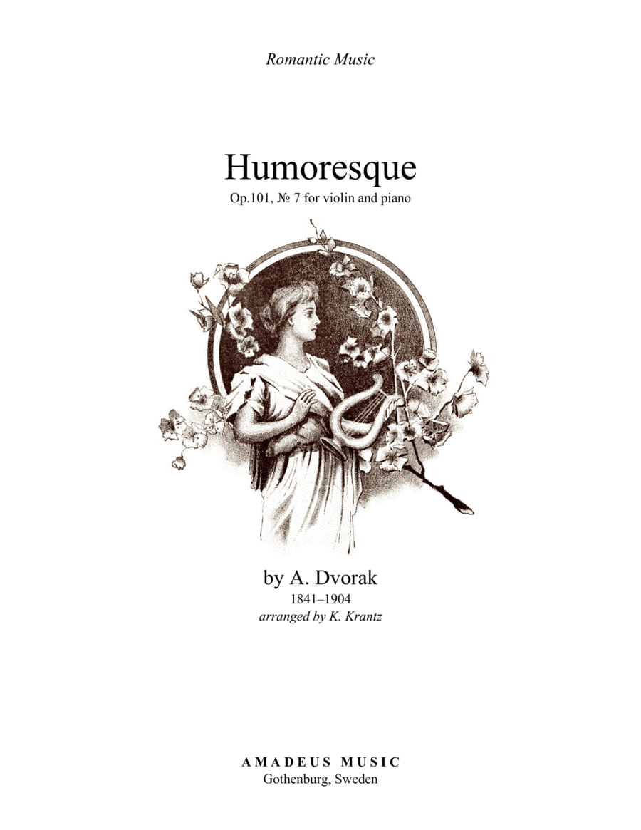 Download Humoresque, Op. 101, No. 7 For Violin And Piano