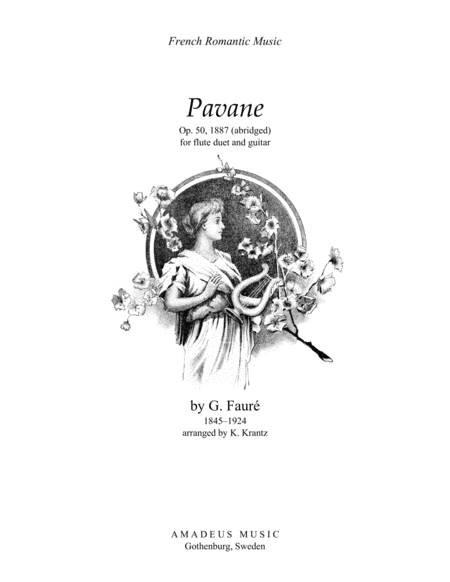 Download Pavane Op. 50 For Flute (violin) Duet And Guitar