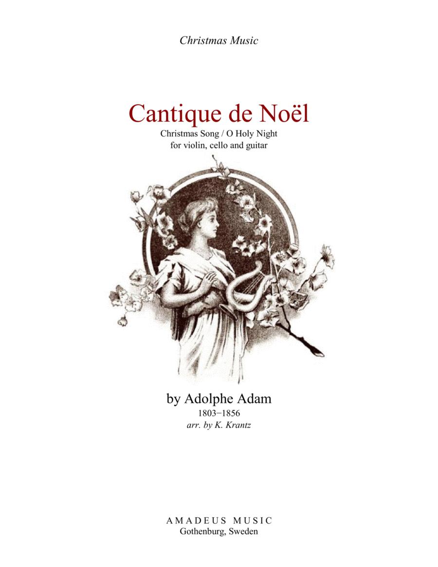 Download O Holy Night / Cantique De Noel For Violin, Cello