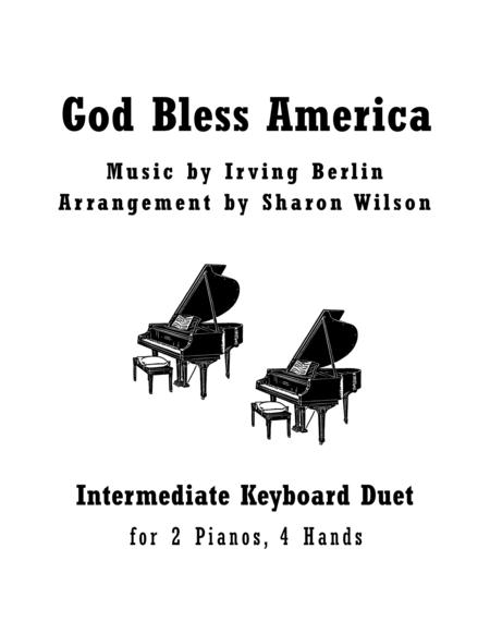 Download God Bless America (2 Pianos, 4 Hands Duet) Sheet