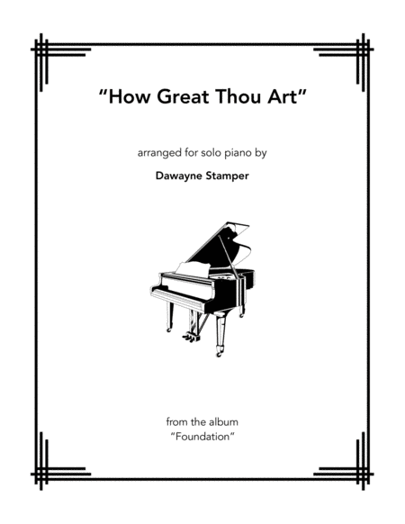 Download How Great Thou Art Sheet Music By Stuart K. Hine