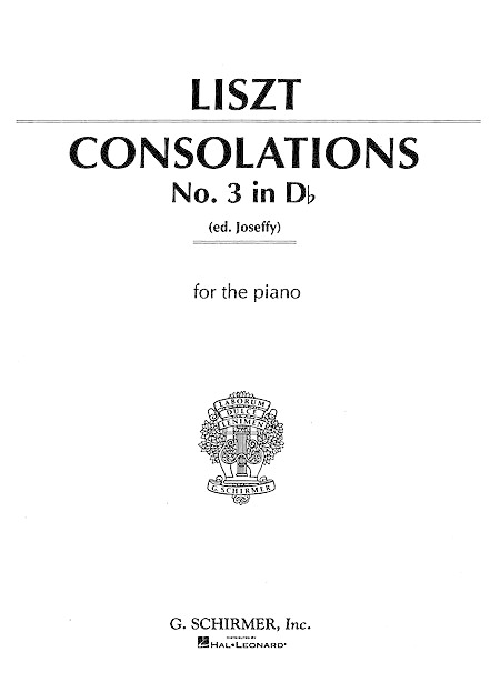 Consolation No. 3 In Db Major Sheet Music By Franz Liszt