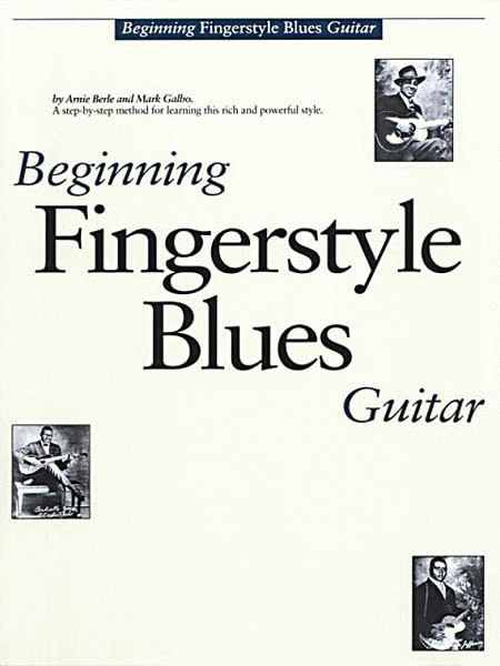 Beginning Fingerstyle Blues Guitar Sheet Music By Arnie