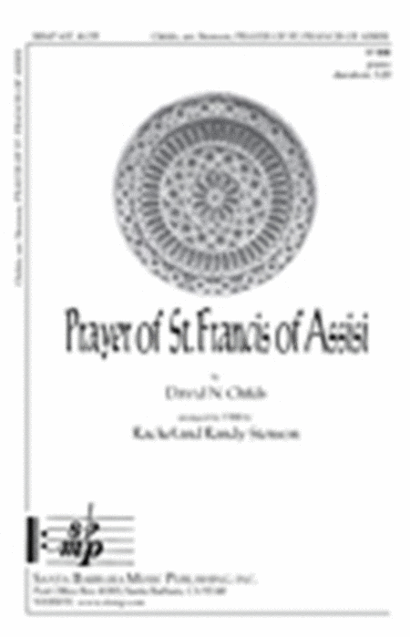 Prayer Of St. Francis Of Assisi Sheet Music By David N