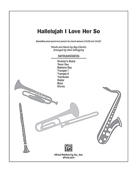Hallelujah I Love Her So Sheet Music By Ray Charles
