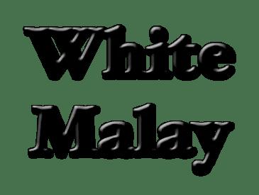 White Malay