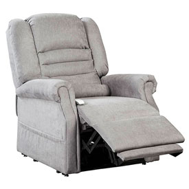mega motion lift chairs reviews officemax white office chair | recliner serene power with - infinite position dove ...
