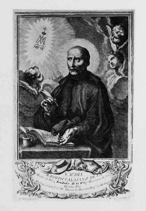 San Jos de Calasanz  Enciclopedia Catlica