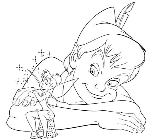 Colorear Cuentos Peter Pan Recurso Educativo 39958
