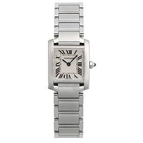 Cartier Tank Francaise Women Watch W51008Q3