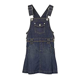 Infant Girls' Cherokee® Denim Skirtalls