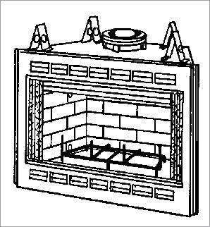 FIREPLACE GAS PIPE STARTER