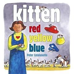 kitten red yellow blue
