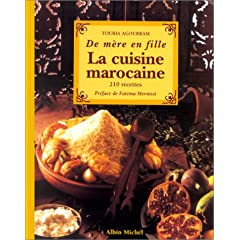 De mère en fille : La cuisine marocaine, 210 recettes