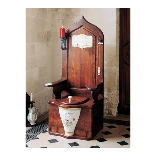 Dagobert Woodend Toilet Throne