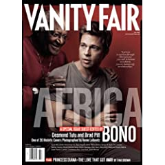 Vanity Fair July 2007 Africa Issue, Pitt/Tutu Cover