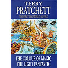 The Colour of Magic, The Light Fantastic by Terry Pratchett