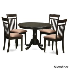 5 Piece Kitchen Table Sets Aid Stoves Nook And 4 Dining Chairs Ebay