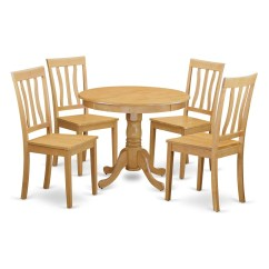 Oak Kitchen Table And Chairs Remodel On A Budget Small 4 Dining Set Ebay