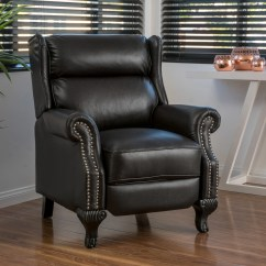 Darvis Leather Recliner Club Chair Brown Christopher Knight Home Nursery Chairs Uk Tauris Pu By
