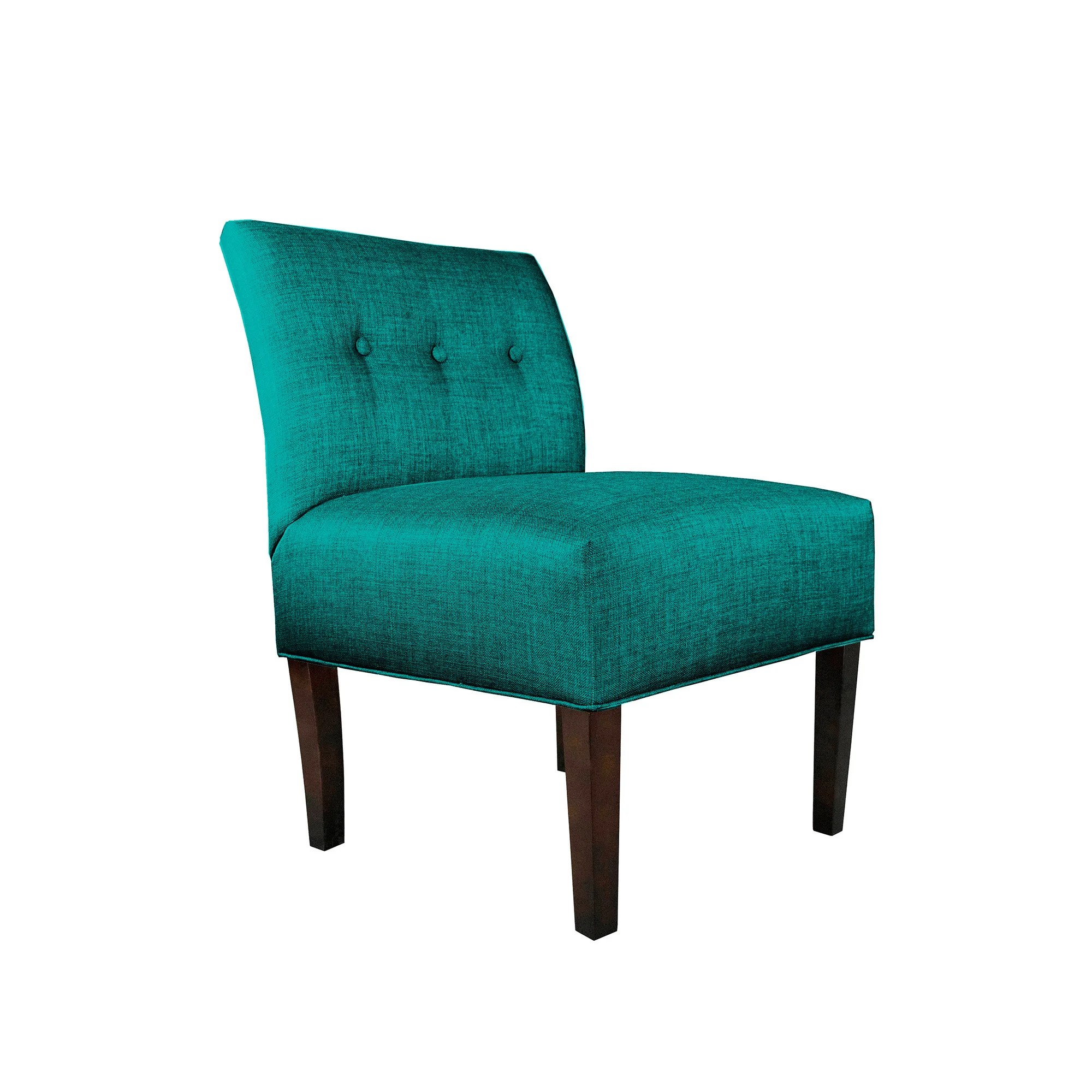 tufted blue chair indoor dining pads mjl furniture samantha brown fabric wood button