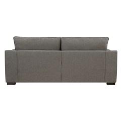46 Deep Sofa Newport Fabric Bed With Reversible Chaise Serta Seating Geneva 85 Inch Grey Ebay