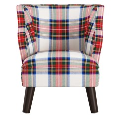 Kids Accent Chair Occasional Living Room Chairs Skyline Furniture In Plaid Ebay
