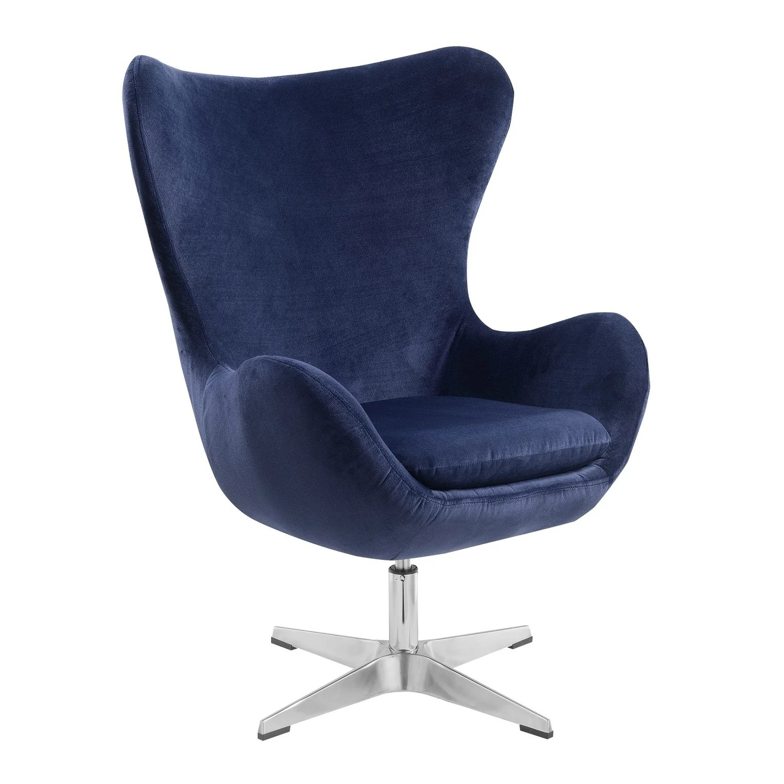 Emerald Green Accent Chair Emerald Home Acme Midnight Blue Swivel Accent Chair Ebay