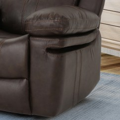 Darvis Leather Recliner Club Chair Brown Christopher Knight Home Slipcovered Dining Chairs Evelyna Classic Gliding By