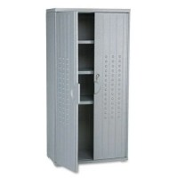 Gray Office Cabinets Image