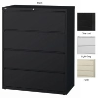 Hirsh HL10000 Series 42-inch Wide 4-drawer Commercial ...