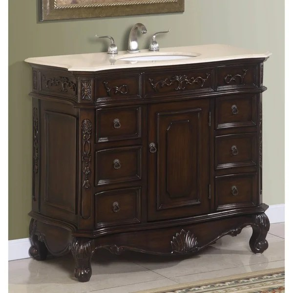 Miranda Bathroom Vanity  Overstock Shopping  Great Deals