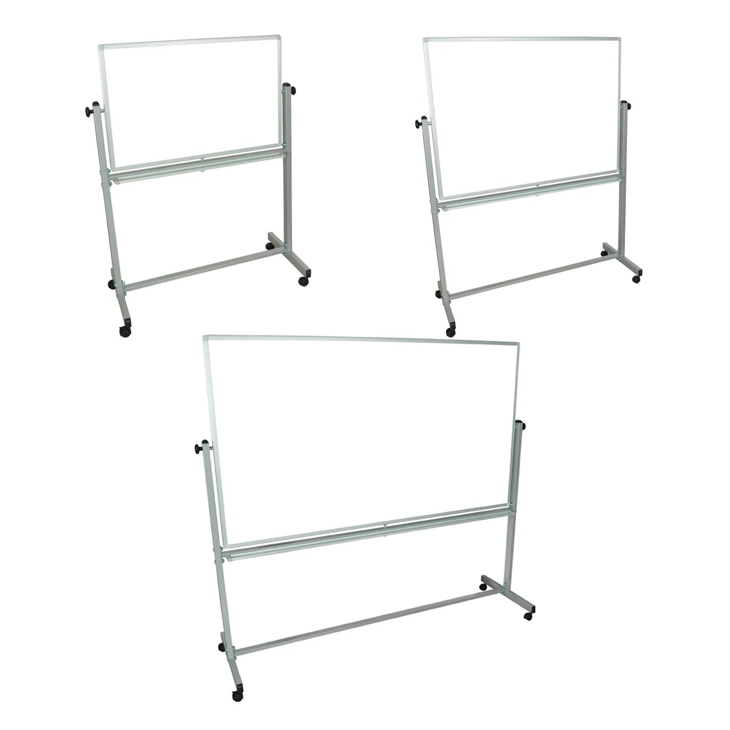 Luxor Mobile White Double Sided Reversible Dry-Erase