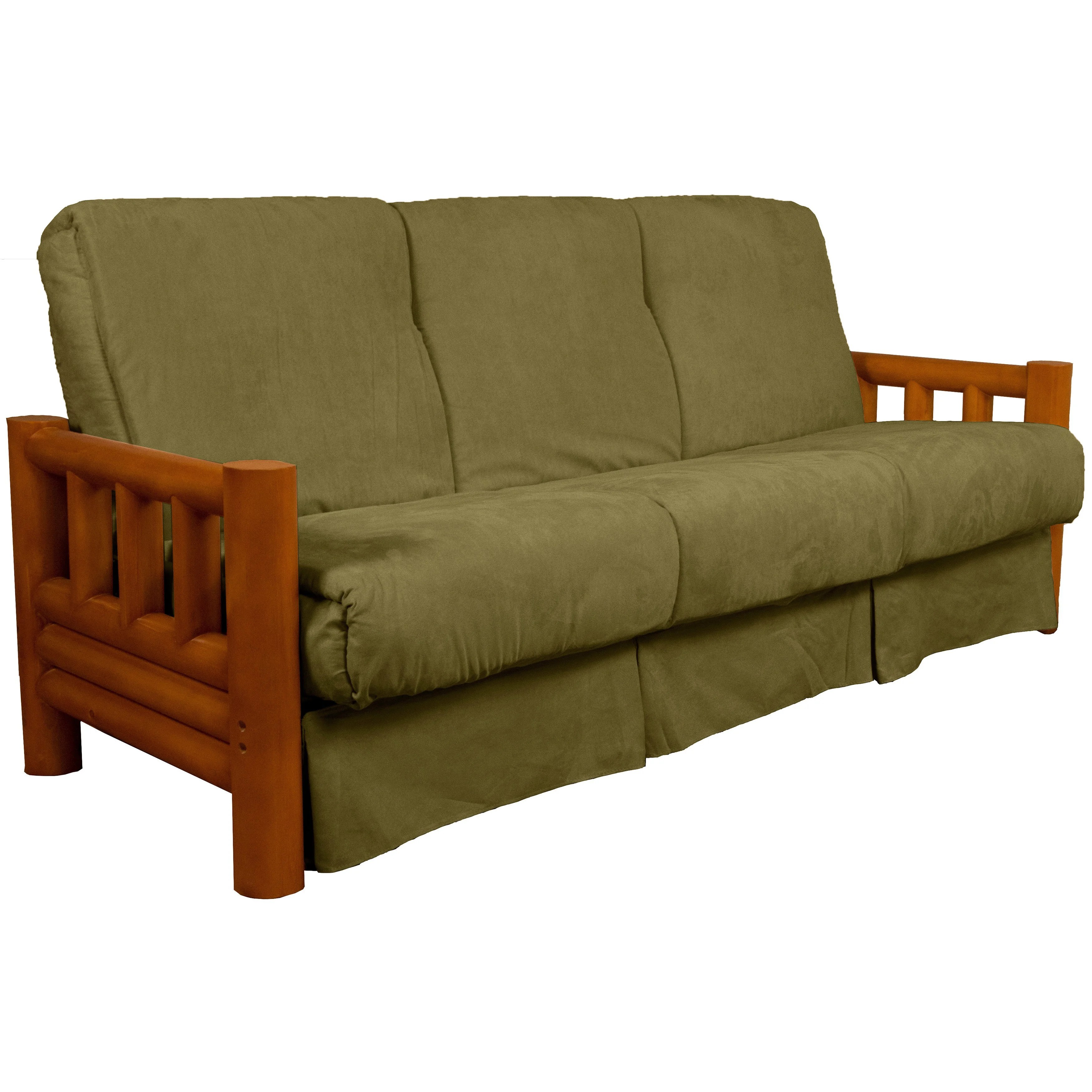 lodge sofa set online australia pine canopy tuskegee style pillow top sleeper