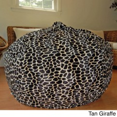 Cheetah Print Bean Bag Chair Zebra Arm Animal Tyres2c