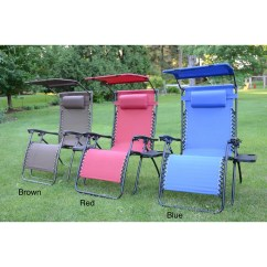 Lawn Chair With Canopy Target Rocking Covers Oversize Lounge Zero Gravity Extra Large Tray Picture 6 Of 10