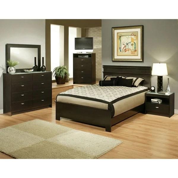 Sandberg Furniture Times Square Bedroom Set  Overstock
