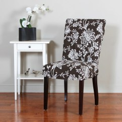 Overstock Com Dining Room Chairs Alabama Lawn Chair Boat Verona 1 Piece Floral Relaxed Fit Slipcover
