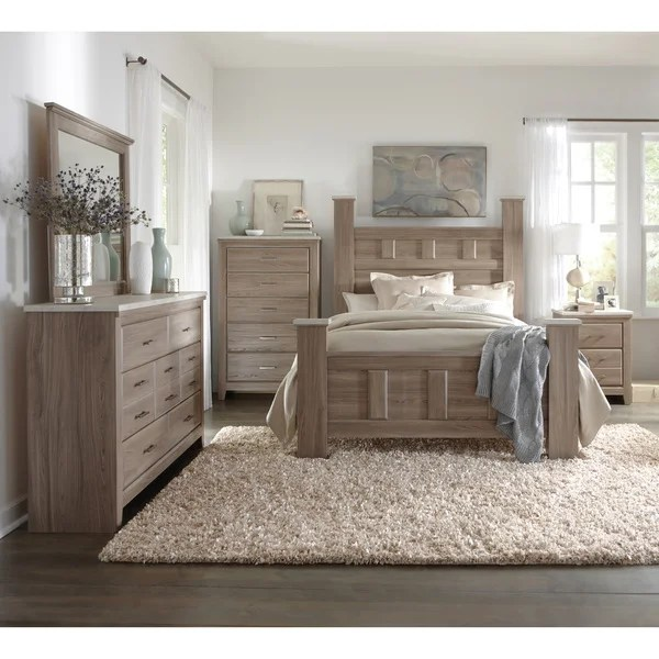 Art Van 6piece King Bedroom Set  Overstock Shopping