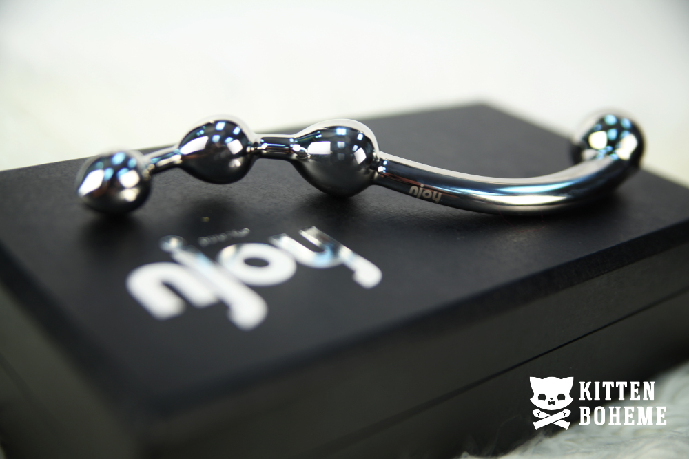 Njoy Fun Wand Stainless Steel Double Ended Dildo Sex Toy Review by KittenBoheme.com