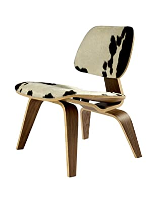 Control Brand Molded Plywood Lounge Chair, Pony/Natural